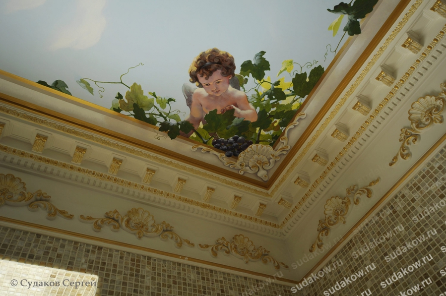 Потолки в стиле барокко своими руками