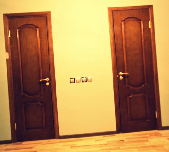 Двери своими руками для туалета