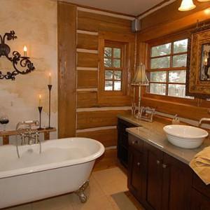 Кантри – деревенский уют для ванной