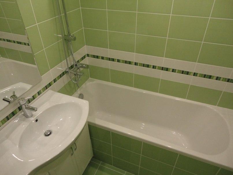 Простая ванная комната своими руками