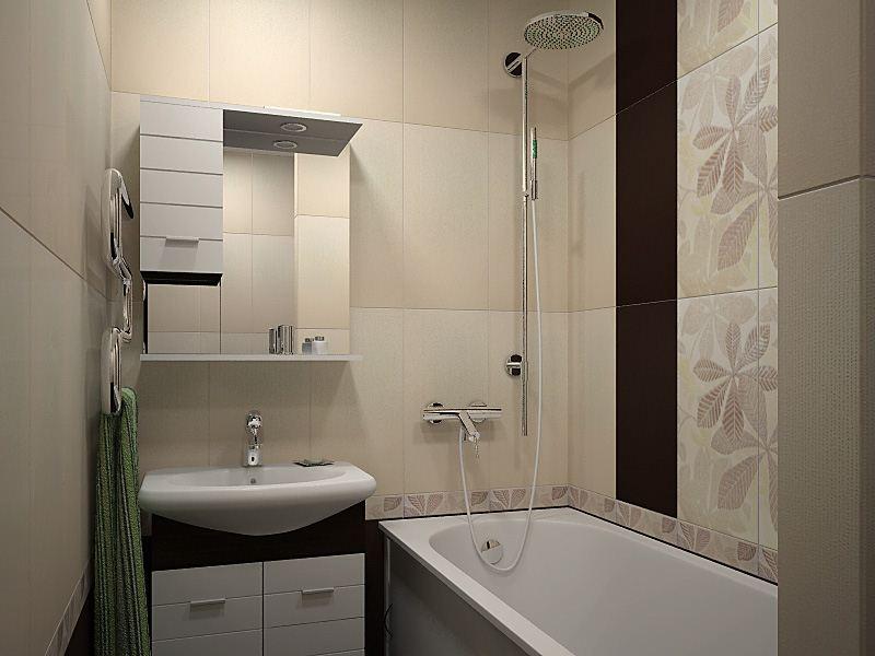 Ремонт маленьких ванных комнат своими руками фото