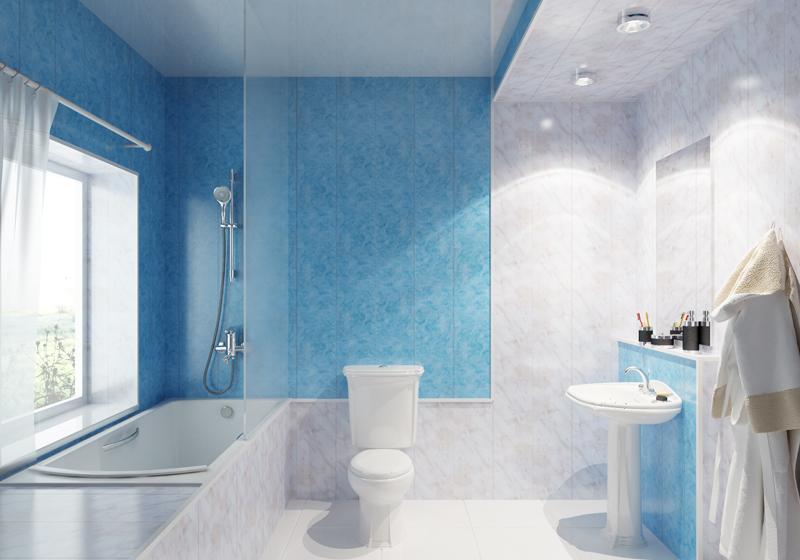 как сделать стеновые панели в ванной видео