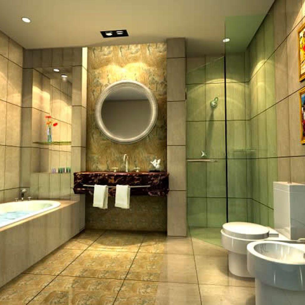 Дизайнерские потолки в ванной