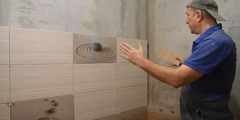 Как класть кафель в ванной