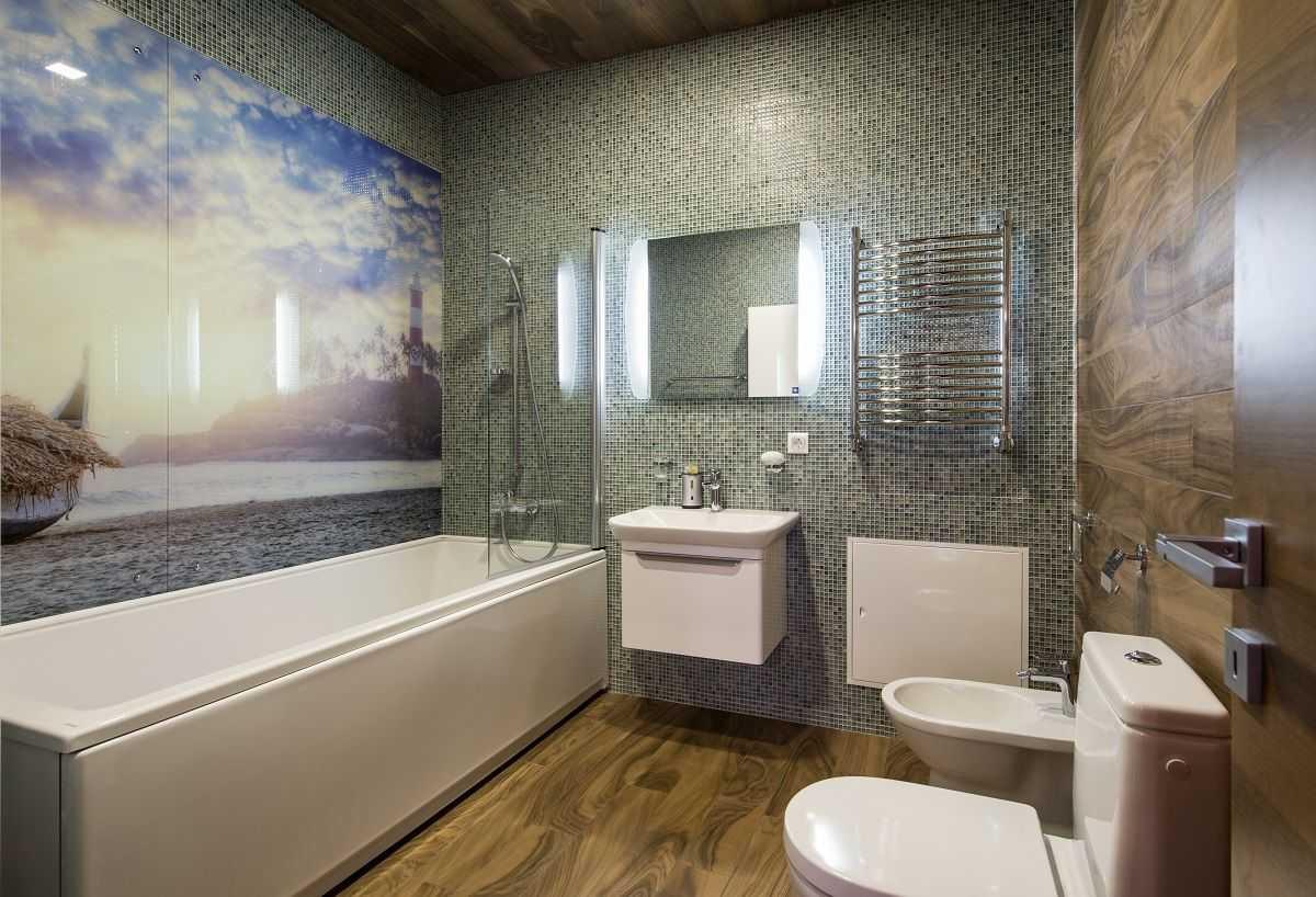 Какого же цвета лучше всего сделать панель в ванной комнате