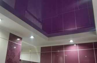 Какой потолок лучше в ванной