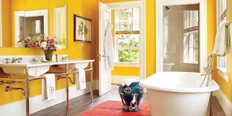 Какую краску выбрать для ванной