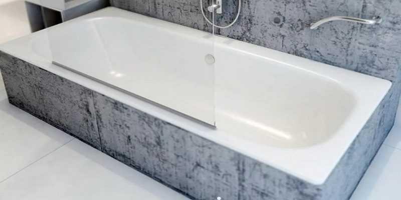 Металлические ванны