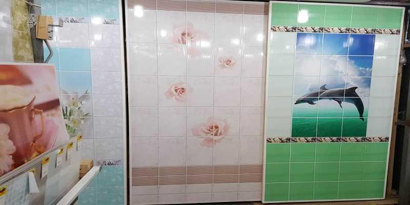 Монтаж листовых панелей в ванной комнате, фото, примеры