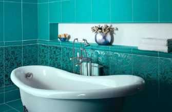 Преимущества кафельной плитки для ванной
