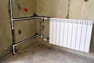 Прокладка труб в стенах и полах