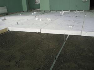 Утепление бетонного пола: примеры материалов и их особенности