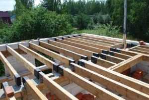 Перекрытия деревянных домов