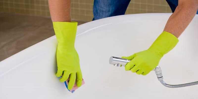 Чем отмыть ванну