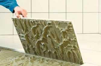 Какой клей выбрать для плитки в ванной