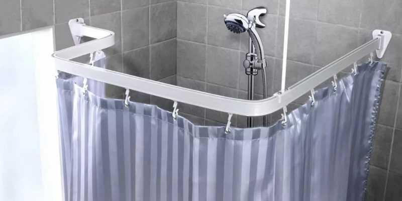 Штанга для ванной комнаты
