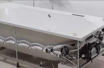 Установка гидромассажной ванны своими руками